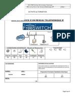 Mise en Service d'Un Réseau Téléphonique IP - FreeSwitch