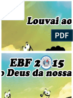 Cartaz ladrilho EBF