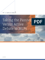 Alerian – Taking the Passive vs Active Debate to MLPs(3)