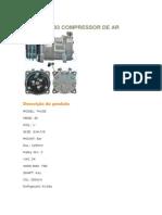 Sanden 4093 Compressor de Ar