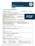 GSMSC Certificate - Involuntary Revokation
