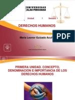 Ayuda 1 Concepto Denominación e Importancia de Los Derechos Humanos