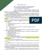 Contran - Resolução Nº 39 - Ondulaçõe d Transversais e Sonorizadores