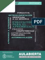 Revista AulAbierta 2 - Evaluación Para El Aprendizaje