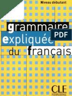 149271401 CLE Grammaire Expliquee Du Francais