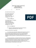 FCCT Et Al. Letter to Secretary Foxx