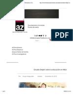 Estudio Delphi sobre la educación en México | Educación y Cultura