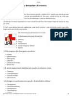 Montando Seu Kit de Primeiros Socorros _ Saúde e Bem Estar Biomédico
