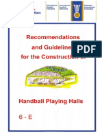 Handball Court Specifications