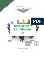 Liquidacion de Sociedadesliquidacion y sociedades Mercantiles