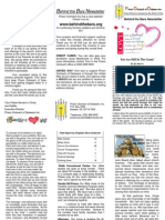 Behind the Bars Newsletter