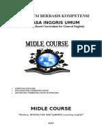 Kurikulum Berbasis Kompetensi Midle Course