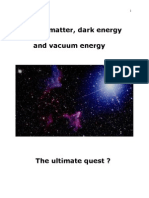 Dark Matter, Dark Energy and Vacuum Energy