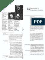 rosenzweig leiman - psicologia fisiologica cap 15 - Emociones y trastornos mentales