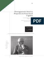 o Desengajamento Moral Na Perspectiva Da Teoria Social Cognitiva