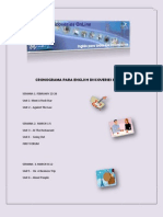 CRONOGRAMA PARA ENGLISH DISCOVERIES BÁSICO I