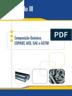 Composição Química AISI, SAE e ASTM