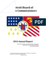 2014 Annual Report of Detroit Police Commissioners