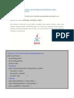 Ejemplo de Herencia en Java