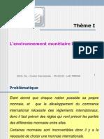 Thème I- L_environnement Monétaire International