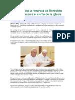 Fue Inválida La Renuncia de Benedicto XVI