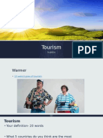 tourism intro