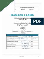 7-3 BLR 9490 Cartridge Packaging Validation