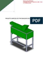 Projeto Simples de Triturador de Solo-cimento