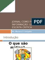 Jornal Midia Educacao