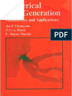 Thompson & Otros - Numerical Grid Generation. Foundations and Applications