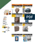 Rocas Igneas, Metamorficas, Sedimentarias CETEMIN