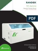 Daytona Operator Training Manual v1.0 Nov 09 With New Cover