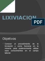 Lixiviacion