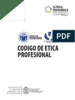Codigo de Etica Profesional Psicología PUCV