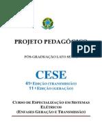 Projeto Pedagogico CESE UNIFEi