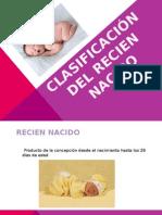 Clasificacion Del Recien Nacido1