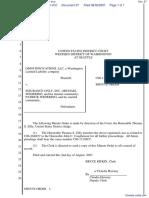 Omni Innovations LLC v. Insurance Only Inc et al - Document No. 27