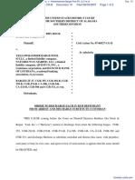 Harrison Brothers Drydock & Repair Yard, Inc. v. Yellowhammer Barge Pool #3, LLC et al - Document No. 10