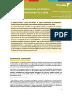 Fundacion Pensar - Proyecciones del Sistema Previsional