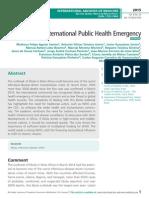 Ebola, An International Public Health Emergency