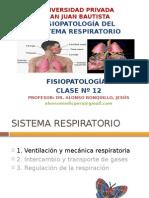Fisopatologia Respiratoría