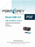 Flea3 USB3.0 imaging performance