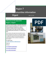 EPA Region 7 Communities Information Digest - July 24, 2015