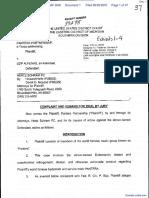 Pantera Partnership v. Alfenas - Document No. 1