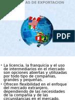 Licencias Franquicias e Intermediarios