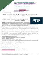 Criterios de Presentación Ponencias 2015