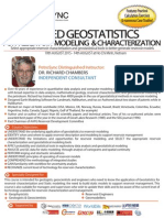 - Applied Geostatistics for Reservoir Modeling and Characterization Aug 2015