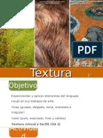 ARTES VISUALES TEXTURAS