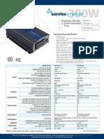 inversor samlex cd-ca 300w