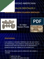 Aleaciones en Odontologia